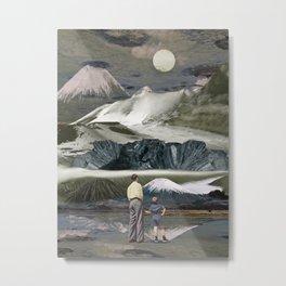 Faraway volcanoes Metal Print