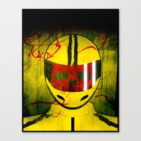 kill bill Canvas Prints featuring kill bill by MAKE ME SOME ART