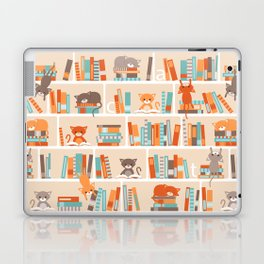 Library cats Laptop & iPad Skin