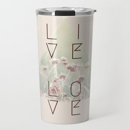 Live & Love Vintage Travel Mug
