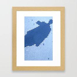 影 Kage Framed Art Print