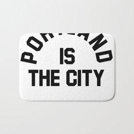 P-TOWN IS THE CITY! Bath Mat