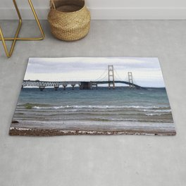 The Mackinac Bridge Rug
