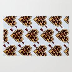 Pizza Love Rug