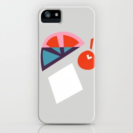 Cherry Cocktail iPhone Case