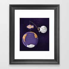 The Lost Continent Framed Art Print