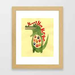 yummy Framed Art Print