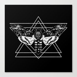 Death's Head Hawkmoth Canvas Print