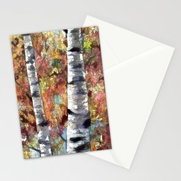 Aspen Trees Panorama Stationery Cards
