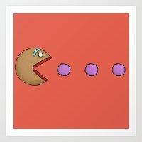 shrek Art Prints featuring Gumdrop Buttons by Pac-Mods
