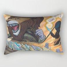 Sentry The Defiant Rectangular Pillow