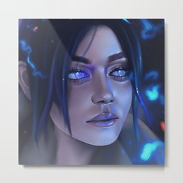 Wraith from Apex legends Metal Print
