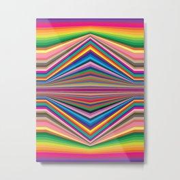 Colorful optic work Metal Print