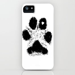 Paw Love iPhone Case