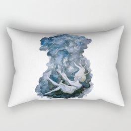 Under Rectangular Pillow