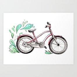 ecobike Art Print