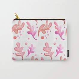 pink leaves Carry-All Pouch