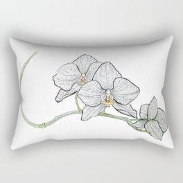 Orchidea illustrata Rectangular Pillow
