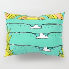 pineapple fields and endless summer vibes Pillow Sham