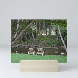 riverside sanctuary Mini Art Print
