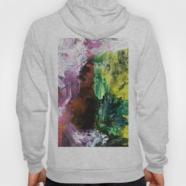 Sweet or Sour // abstract painting Hoody