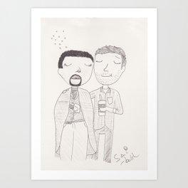 flu season Art Print