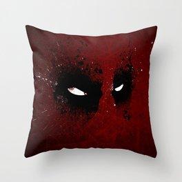 DeadMouth Throw Pillow