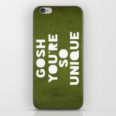 Gosh (Unique) iPhone & iPod Skin