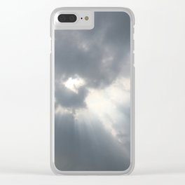 Sky #1 Clear iPhone Case