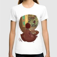 bigfoot T-shirts featuring Hello Bigfoot! by Silvio Ledbetter