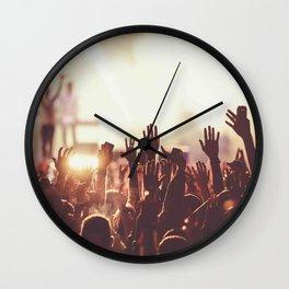 Fans concert Music Wall Clock