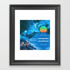 Rivage Framed Art Print