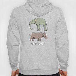 what do you get when you cross an elephant and a rhino Hoody