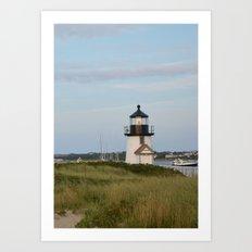 Nantucket Lighthouse Art Print
