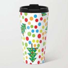 Pattern circle multi color Travel Mug