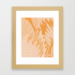 Flocka Framed Art Print