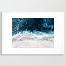 Blue Sea II Framed Art Print