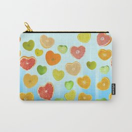 Juicy Hearts Carry-All Pouch