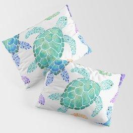 Sea Turtle - Colour Pillow Sham