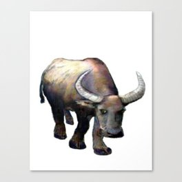 Ox jGibney The MUSEUM Society6 Gifts Canvas Print