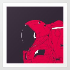 GOD IS AN ASTRONAUT // R Art Print