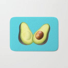 'ave an Avo | Blue Bath Mat