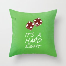 Friends 20th - Dice  Throw Pillow