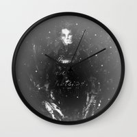 edward scissorhands Wall Clocks featuring Edward Scissorhands by Carlo Spaziani