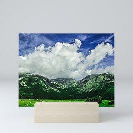 Clouds Over San Luis-Painterly Version Mini Art Print