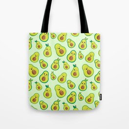 Cute Avocado Pattern Tote Bag