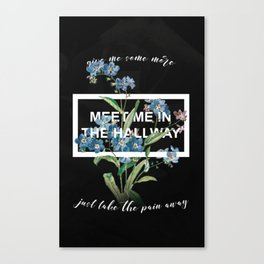 Harry Styles Meet Me In The Hallway Artwork Canvas Print