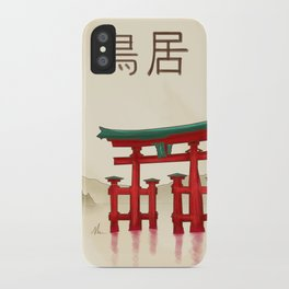 Torii Gate - Painting iPhone Case