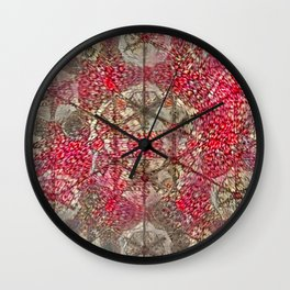 Abstruse Nutty Net Wall Clock