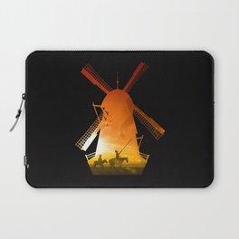 Fighting Giants (dark version) Laptop Sleeve